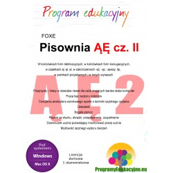 Program ĄĘ cz. 2 lic. domowa